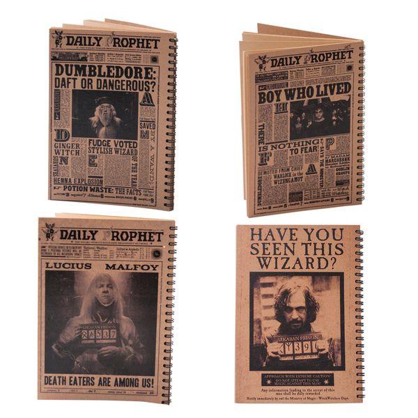 دفتر یادداشت بیگای استودیو مدل شخصیت های هری پاتر بسته 4 عددی |
