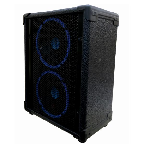 اکو همراه شارژی اکوتک مدل ET سایز 2.6 اینچ   ECHOTAK double 6inch speakers  model ET