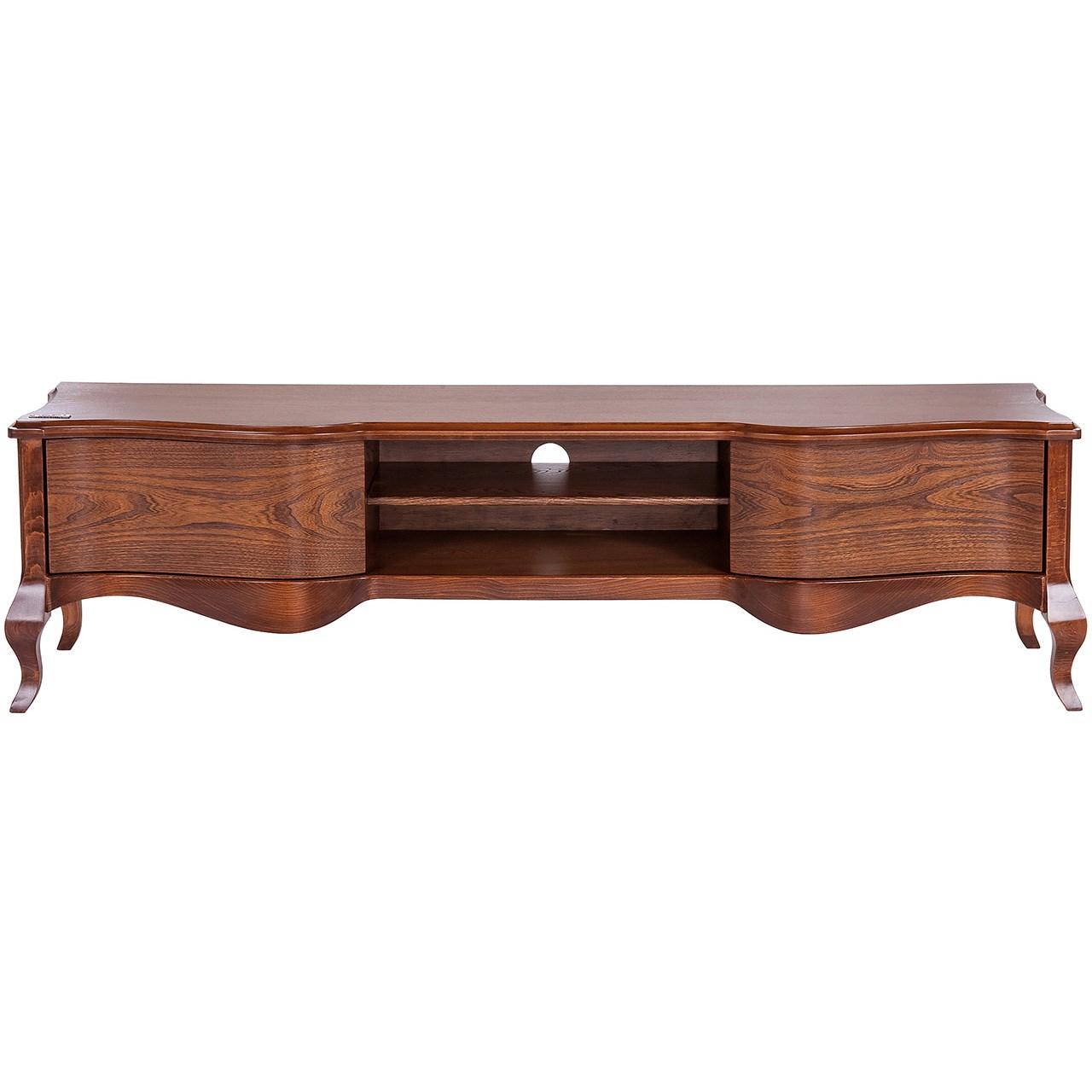 میز تلویزیون آیلکس مدل LIONA-WALNUT-160
