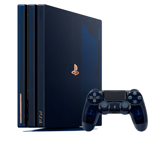 کنسول بازی سونی مدل Playstation 4 Pro مدل Limited Edition 500 Millions - ظرفیت 2 ترابایت | Playstation 4 Pro Limited Edition 500 Millions -2T