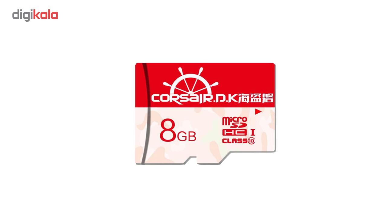 کارت حافظه micro SDHC کرسیر دی کی مدل Ultra-Fast کلاس 10 استاندارد UHS-I سرعت 80MBps ظرفیت 8 گیگابایت