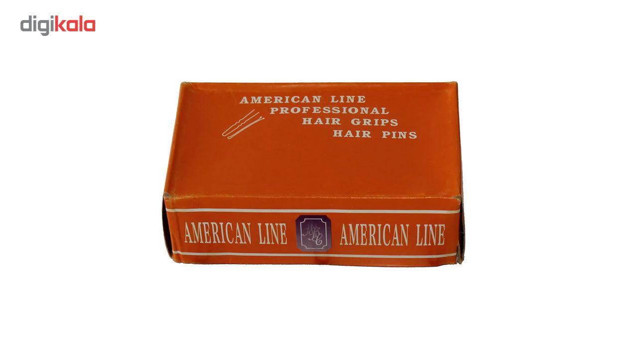سنجاق سر جعبه نارنجی سایز بلند بسته 500 گرمی تک سایز main 1 2
