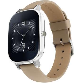 ساعت هوشمند ایسوس مدل زن واچ 2 WI502Q با بند چرمی