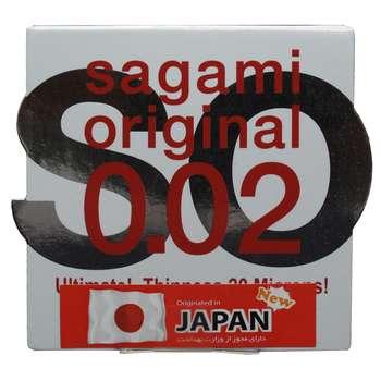 کاندوم ساگامی مدل Normal بسته یک عددی