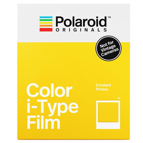 کاغذ چاپ سریع پولاروید مدل Color i-type بسته 8 عددی مخصوص دوربین Polaroid OneStep2