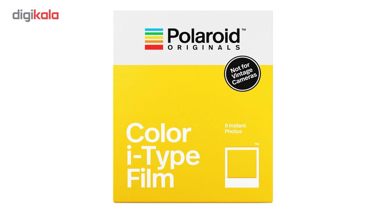 کاغذ چاپ سریع پولاروید مدل Color i-type بسته 8 عددی مخصوص دوربین Polaroid OneStep2 main 1 1