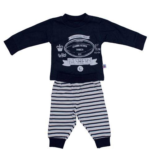 ست لباس نوزادی پسرانه لگی بیبی کد 1580