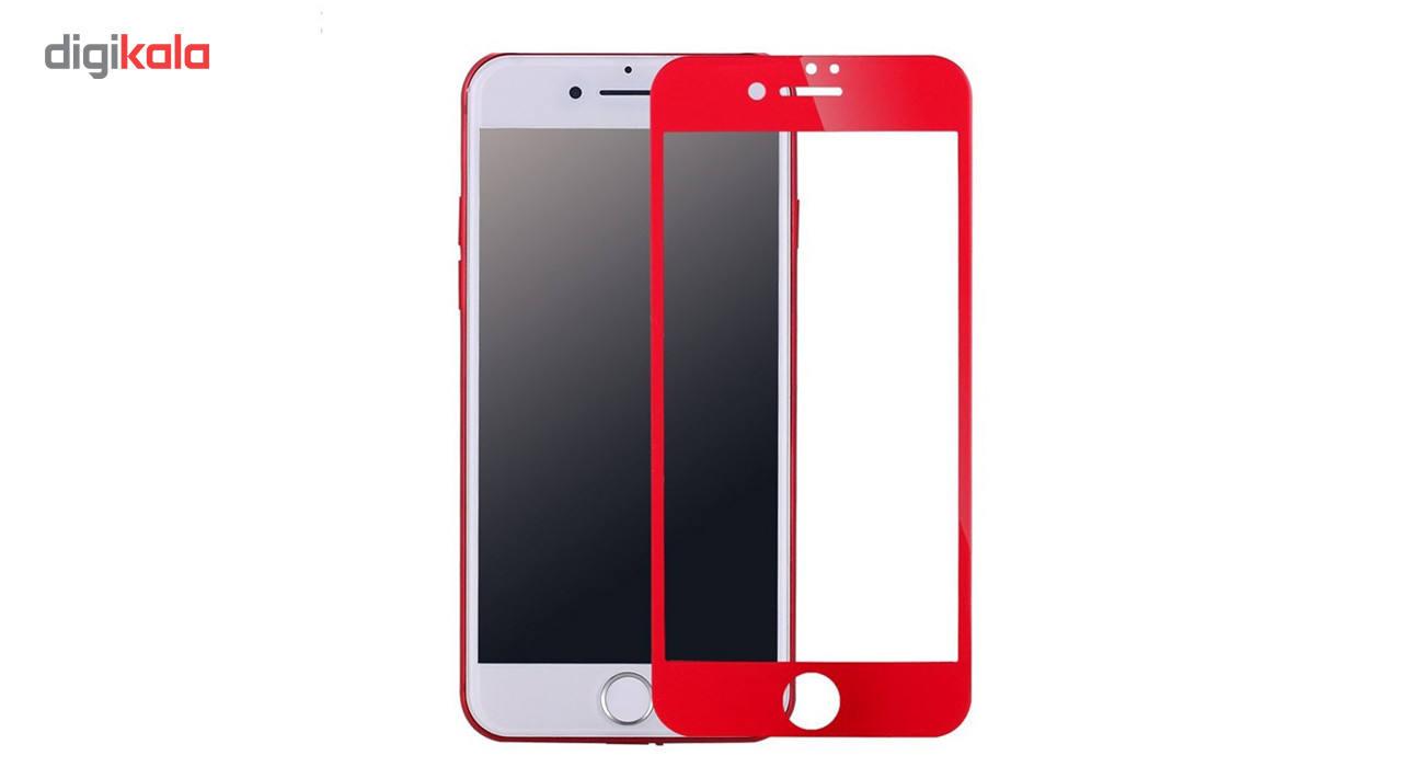 محافظ صفحه نمایش شیشه ای مدل Full Cover Tempered مناسب برای گوشی اپل آیفون 8/7 main 1 4