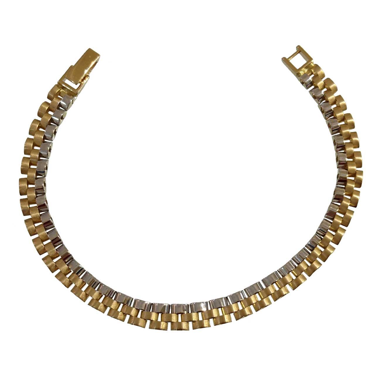 دستبند طلا 18عیار کانیار گالری مدل M896