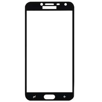 محافظ صفحه نمایش شیشه ای مدل Full مناسب برای گوشی موبایل سامسونگ Galaxy J4 2018