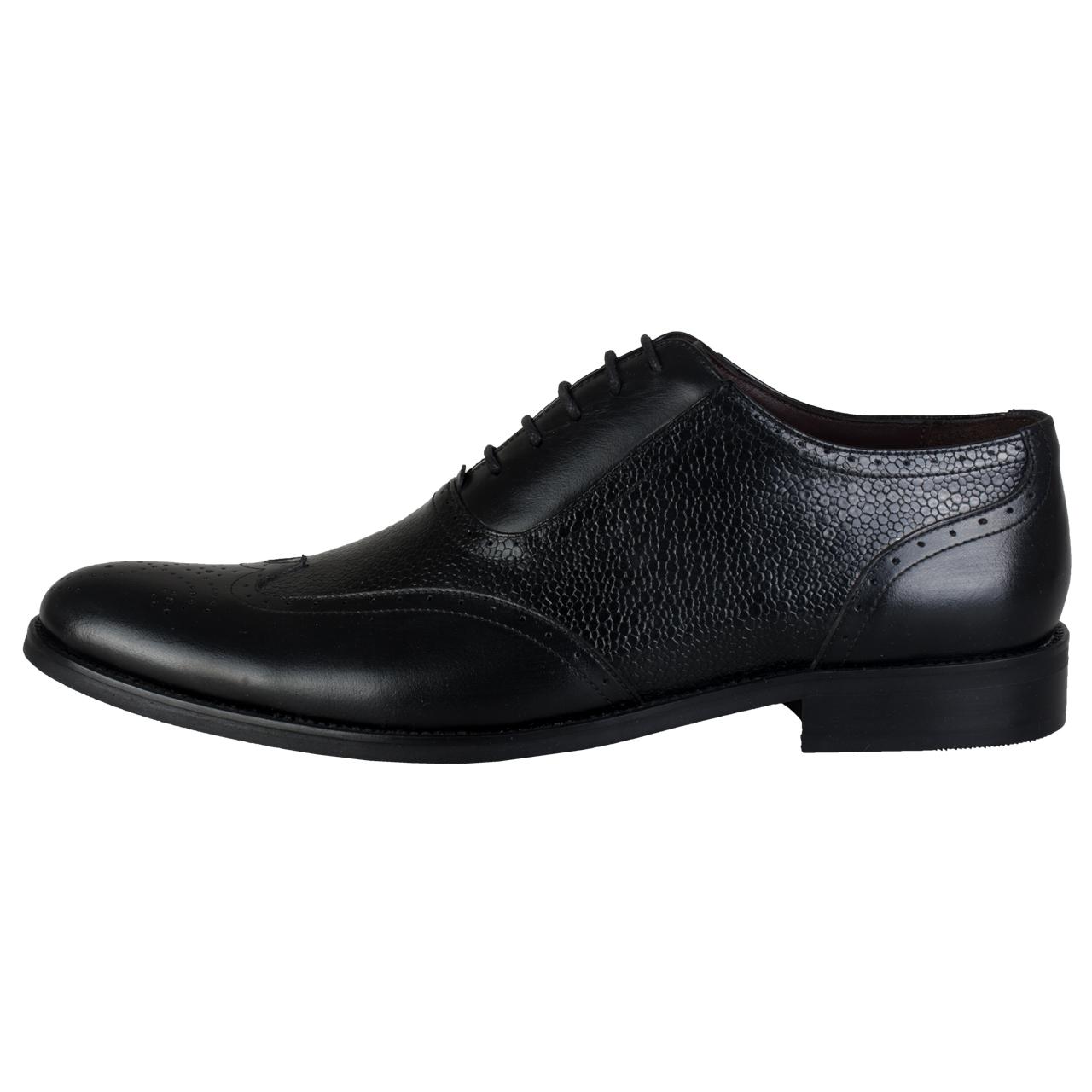 کفش مردانه رسا چرم کد 143