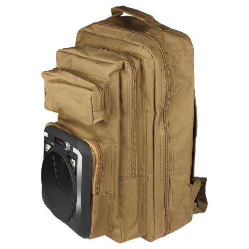 اسپیکر بلوتوثی قابل حملطرح کوله پشتی مدل Outdoor Backpack
