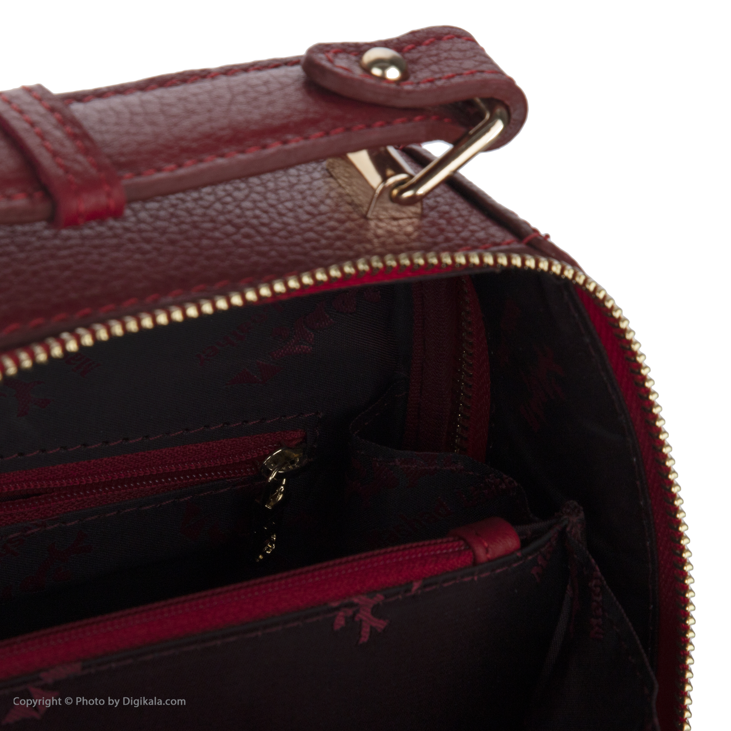خرید                                      کیف دستی زنانه چرم مشهد مدل S5093-083