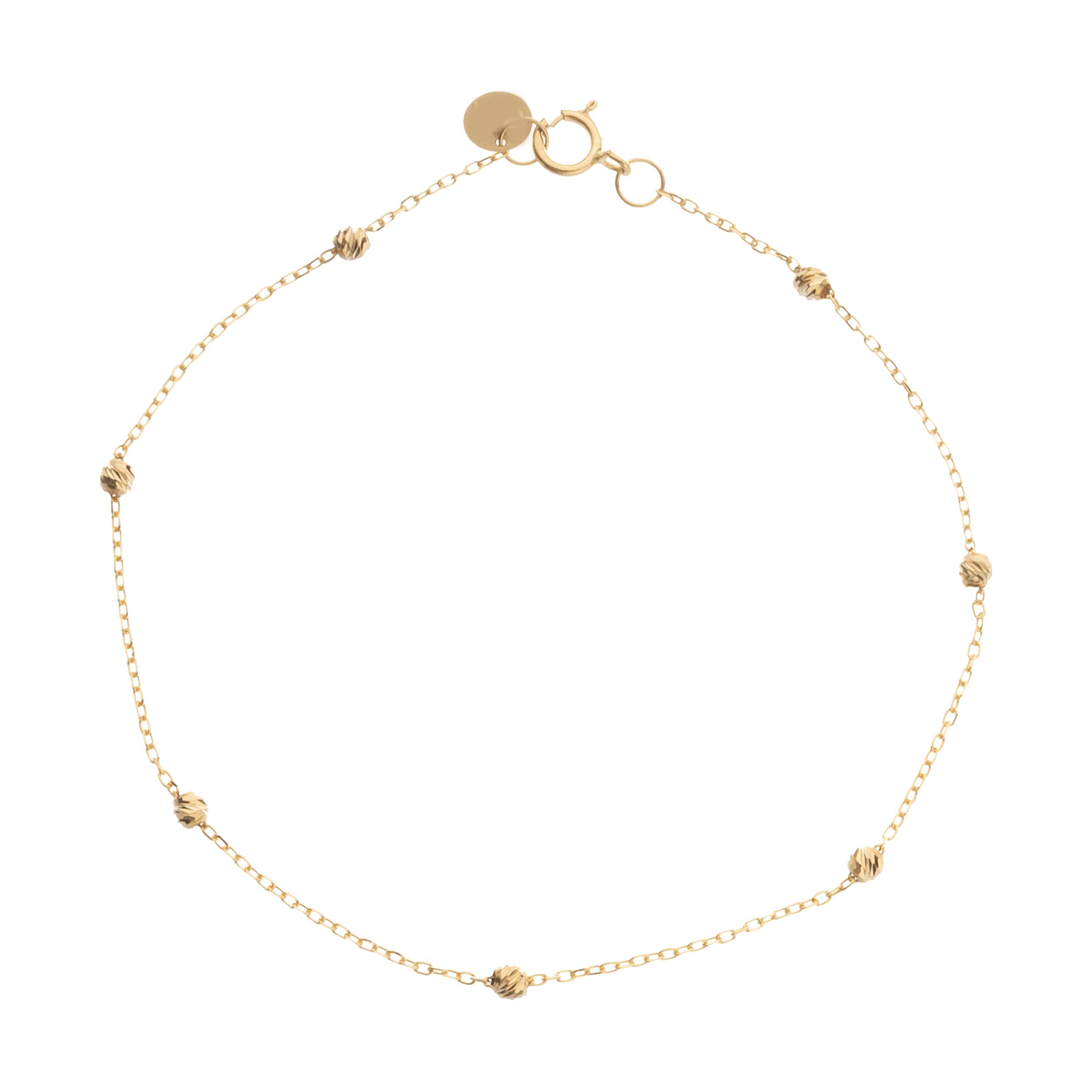 دستبند طلا 18 عیار زنانه ناتروسا مدل NG265
