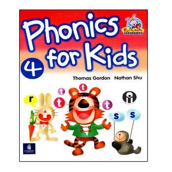 کتاب Phonics For Kids 4 اثر Thomas Gordon And Nathan Shu انتشارات الوندپویان