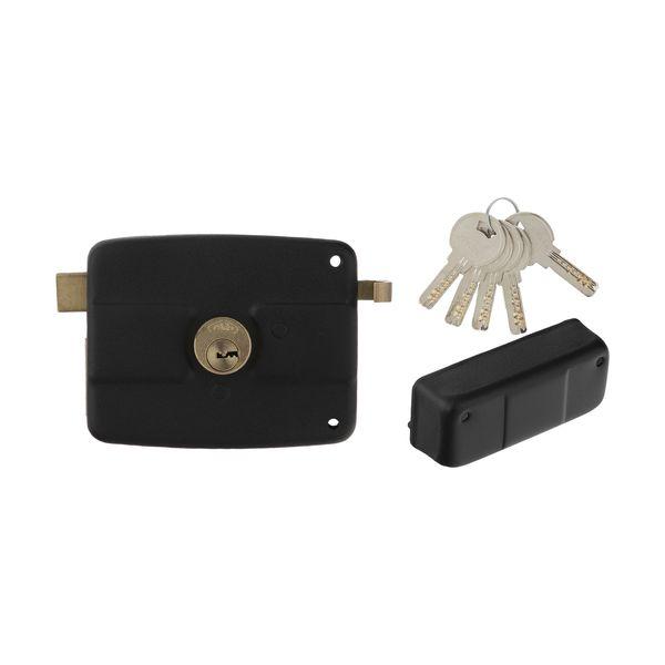 قفل در حیاطی پارس کد 002