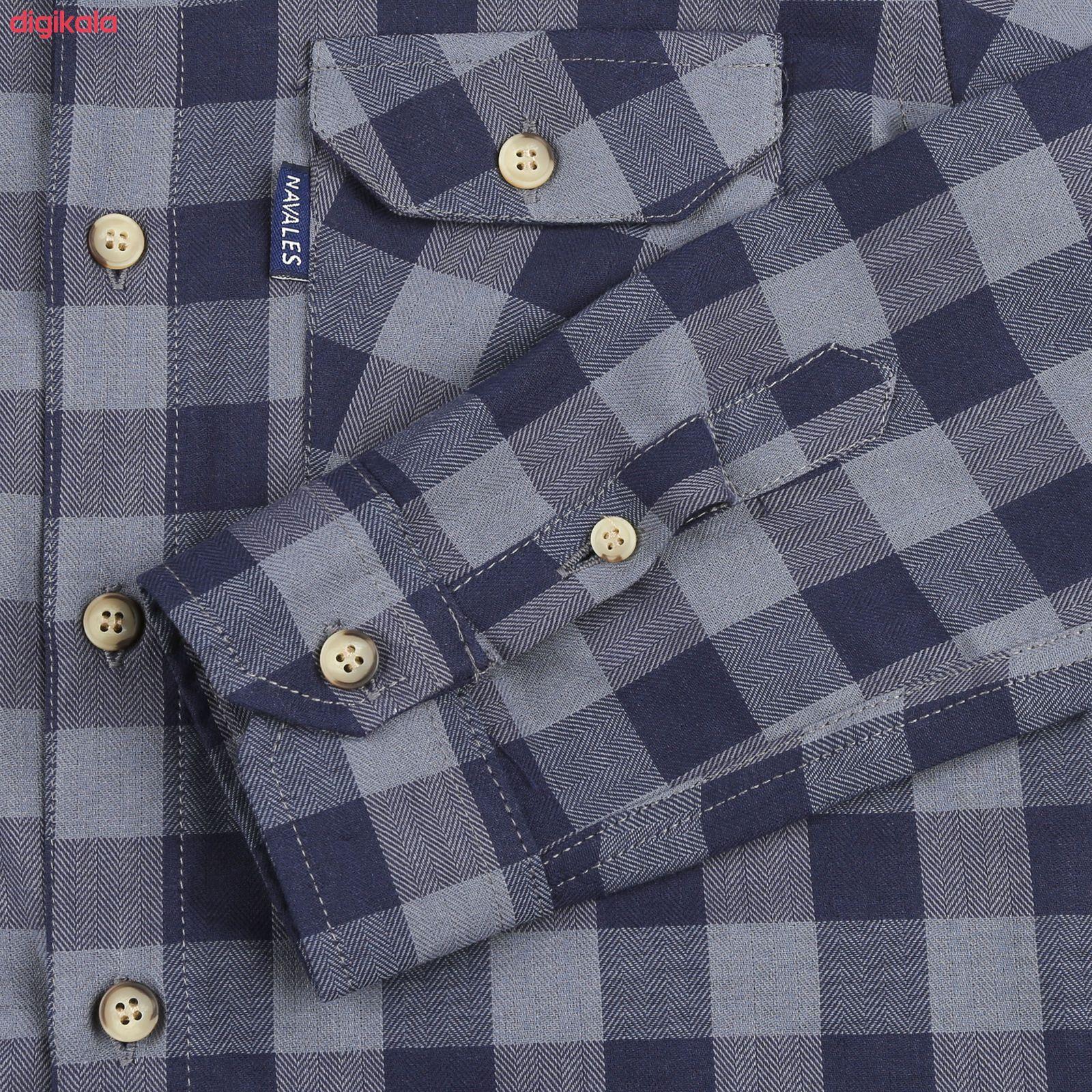 پیراهن پسرانه ناوالس کد D-20119-GY main 1 3