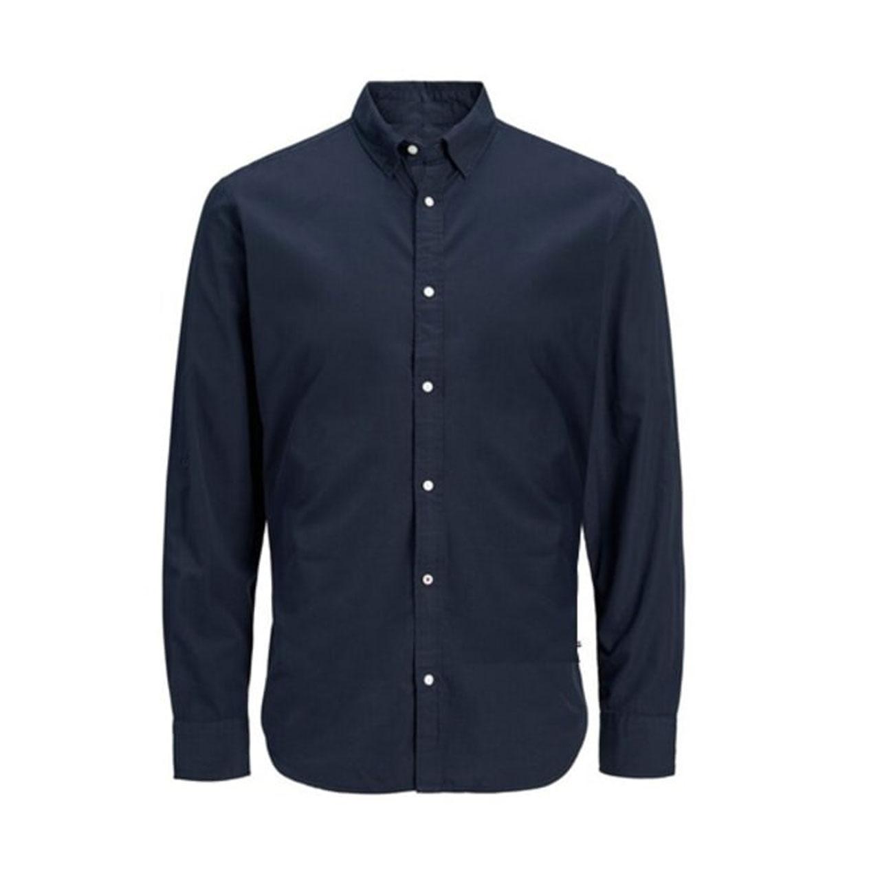 پیراهن آستین بلند مردانه جک اند جونز مدل f10man