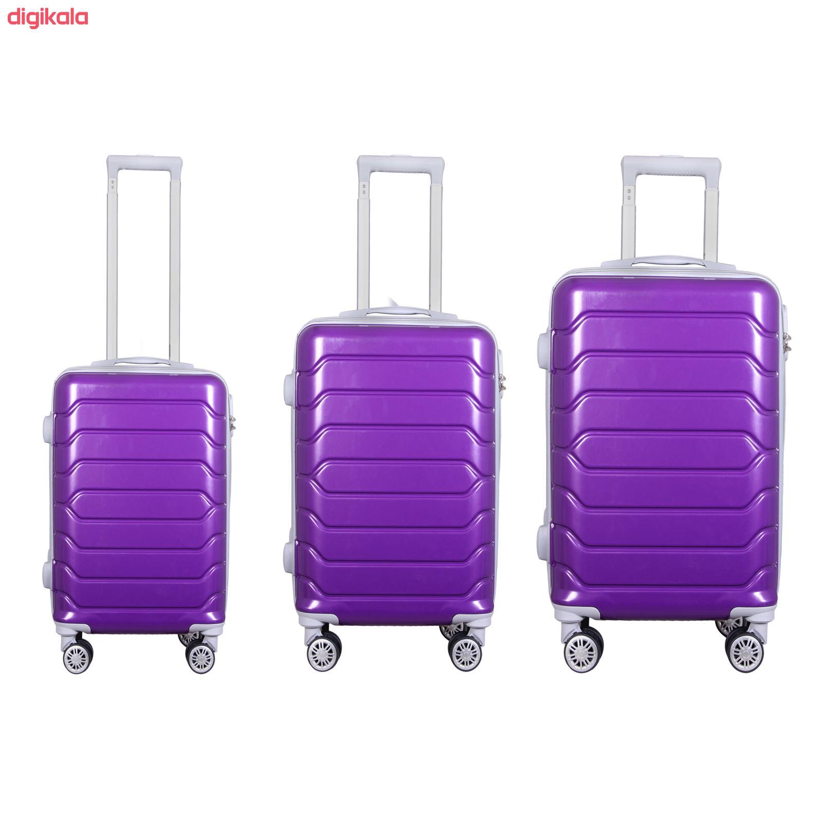 مجموعه سه عددی چمدان مدل 20020 main 1 11