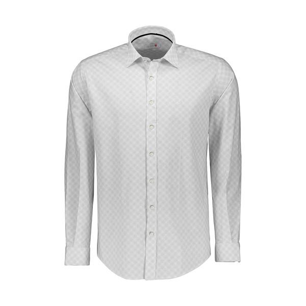 پیراهن آستین بلند مردانه ال سی من مدل 02181061-003