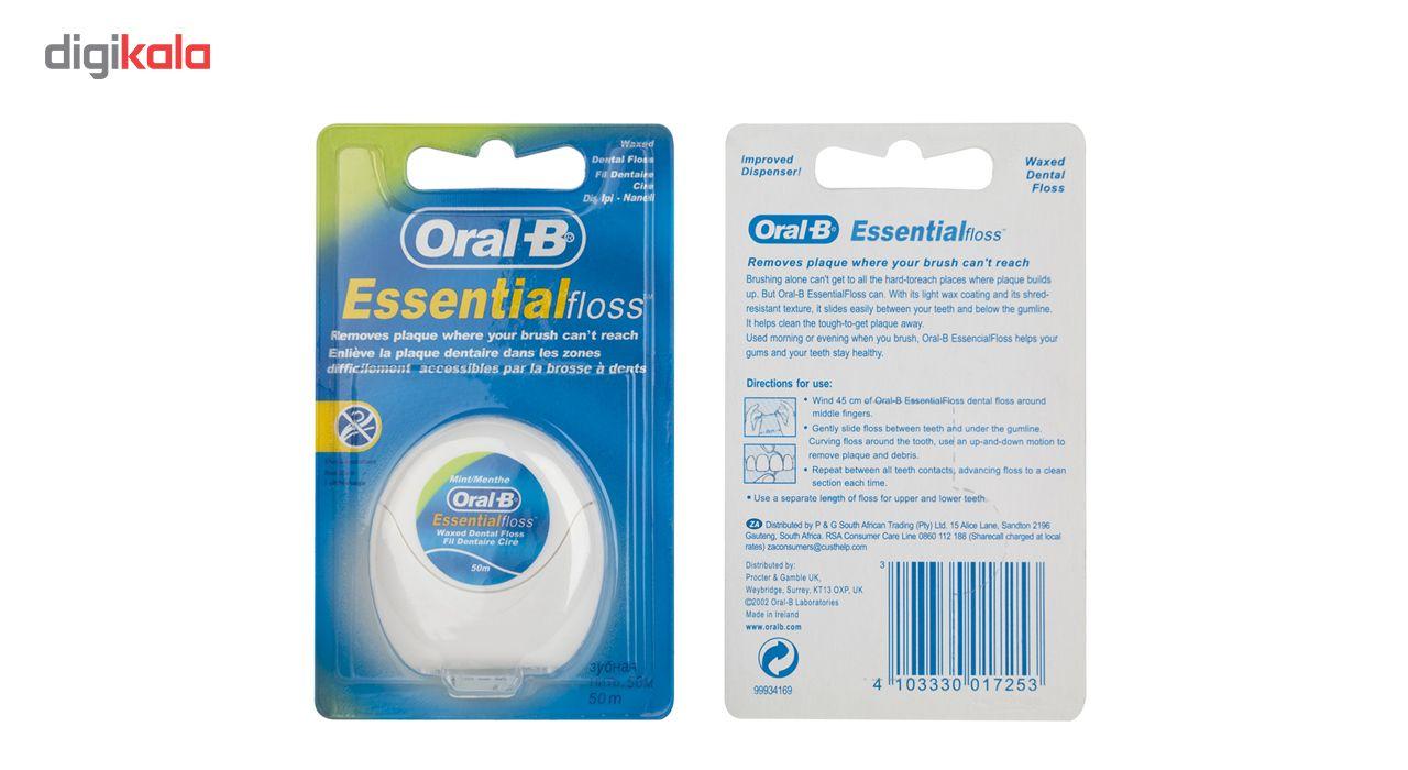 نخ دندان اورال-بی مدل Essential Floss main 1 1