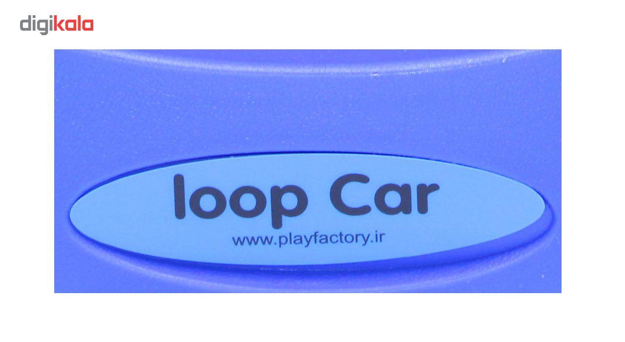 سه چرخه پلی فکتوری مدل لوپ کار Loopcar-RB