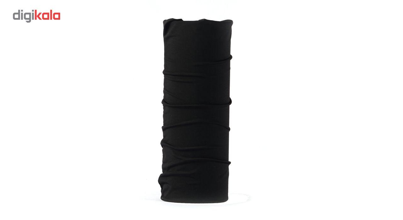 دستمال سر و گردن مدل Strong کد Black main 1 1