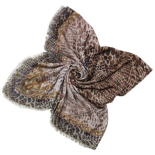 روسری زنانه طرح پوست ماری کد 319044108