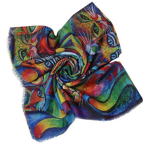 روسری زنانه طرح گربه کد 319080750