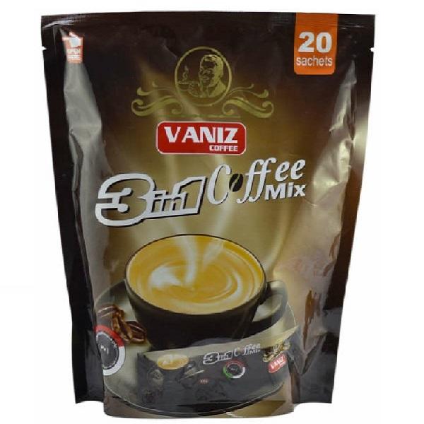 قهوه کافی میکس 1x3 ونیز بسته 20 عددی