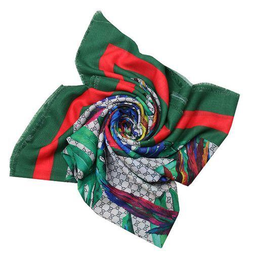 روسری زنانه طرح طوطی کد 101013650