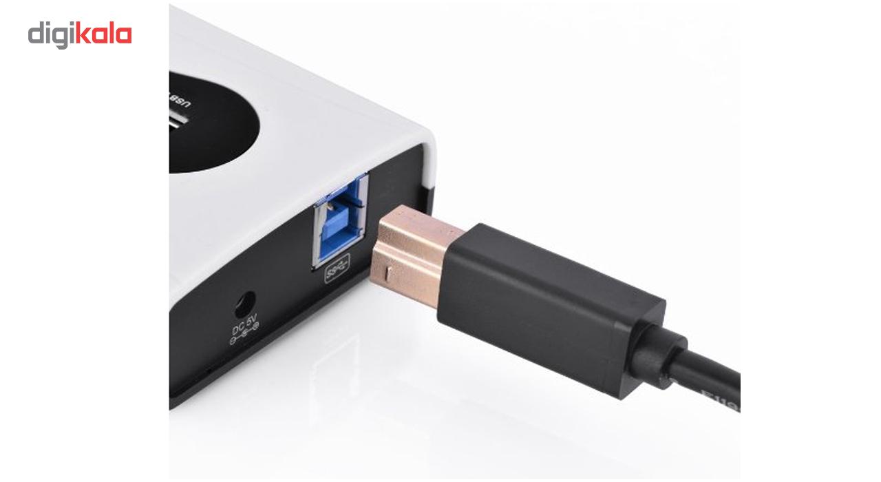 کابل 3.0 USB پرینتر یوگرین مدل US210-10372 طول 2 متر