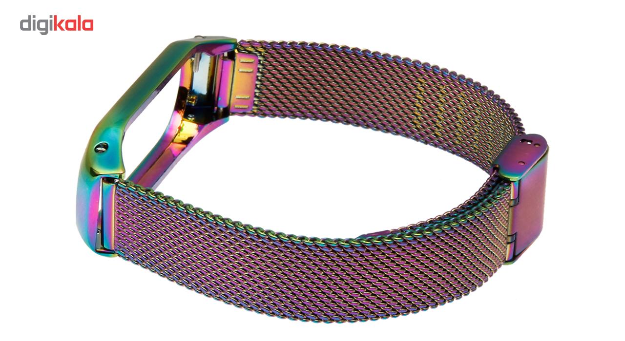بند مچ بند هوشمند شیائومی Mi Band 3 مدل رنگین کمان