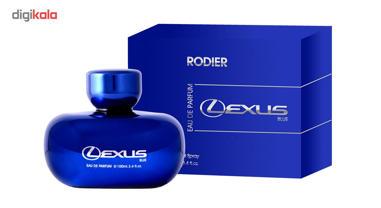ادو پرفیوم مردانه رودیر لکسوس مدل Lexus Blue حجم 100 میلی لیتر