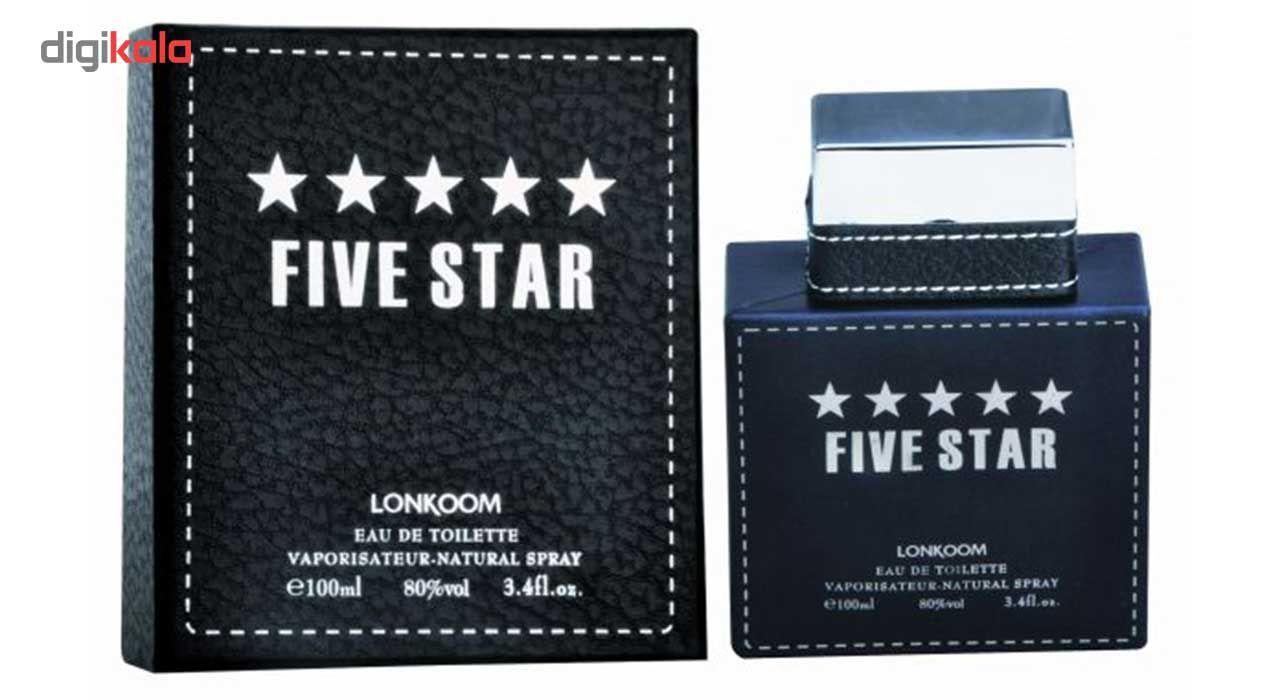 ادوپرفیوم مردانه  لنکوم  مدل Five Star حجم 100 میلی لیتر main 1 1