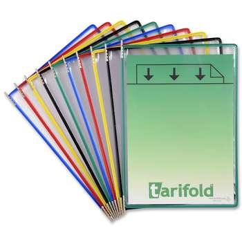 کاور محوردار  یدک کاغذ A4 تاریفولد - بسته 10 عددی