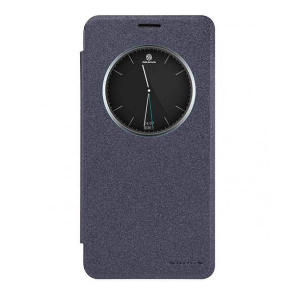 کیف کلاسوری نیلکین مدل New Leather Sparkle مناسب برای گوشی موبایل سامسونگ Galaxy A9 pro / A9100