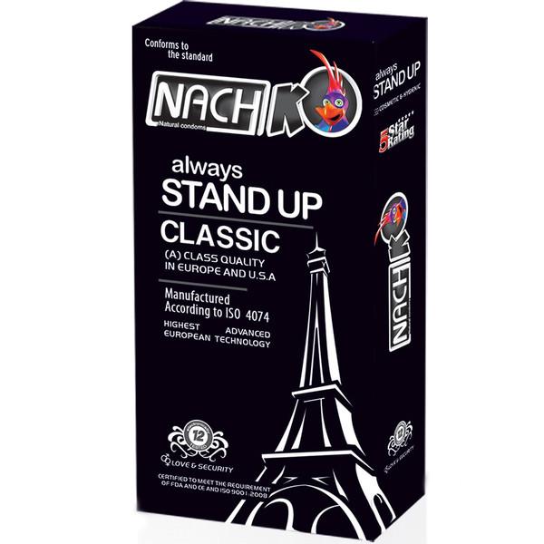 کاندوم کدکس مدل Stand Up Classic بسته 12 عددی