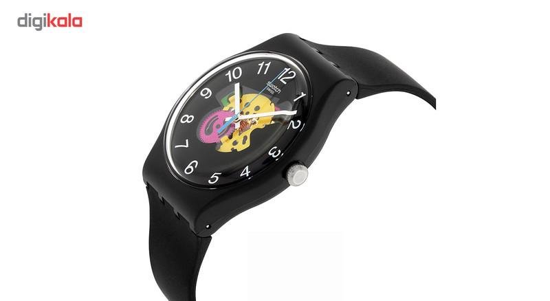 ساعت مچی عقربه ای سواچ مدل SUOB140