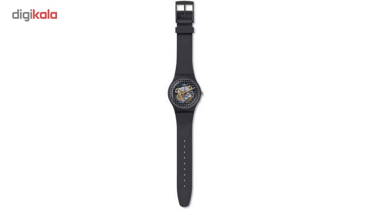 ساعت مچی عقربه ای سواچ مدل SUOM109