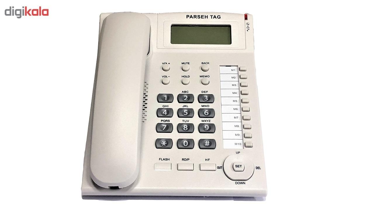 قیمت                      تلفن پارسه تاج مدل L008-A