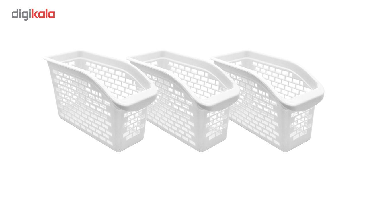 سبد نظم دهنده کابینت و یخچال مدل یسنا کد 001 بسته 3 عددی main 1 3