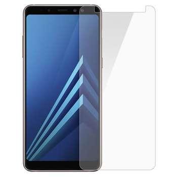 محافظ صفحه نمایش تمپرد مدل Tempered 9H مناسب برای گوشی موبایل سامسونگ Galaxy A8 Plus