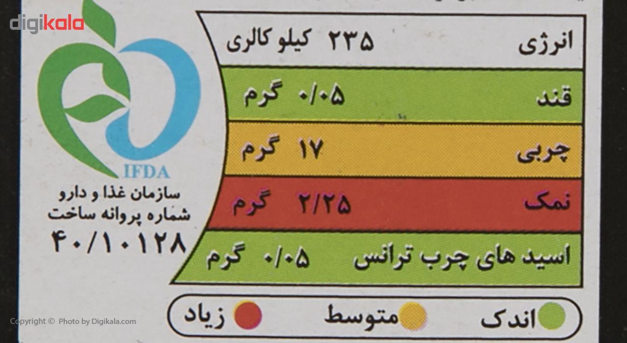 برگر ذغالی 85% آزما مقدار 400 گرم main 1 4