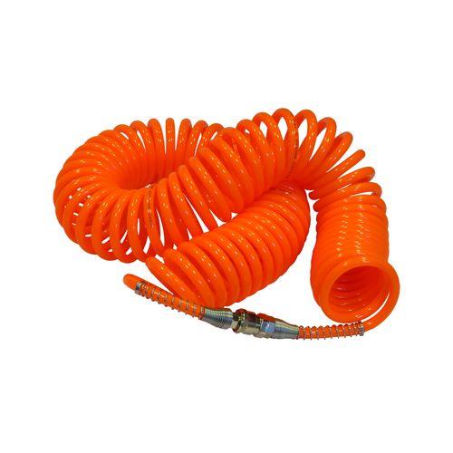 شلنگ فنری کمپرسور سایز 10 طول 10 متر نارنجی