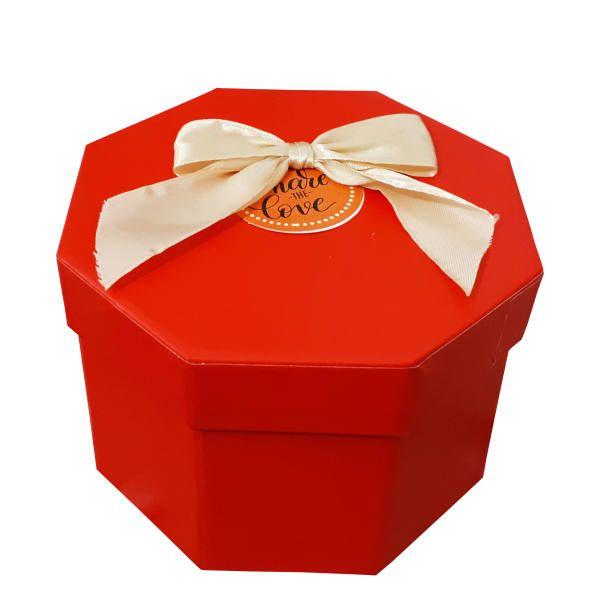 جعبه هدیه مدل هشت ضلعی کد 409