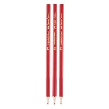 مداد قرمز فابر کاستل مدل 6336 بسته 3 عددی