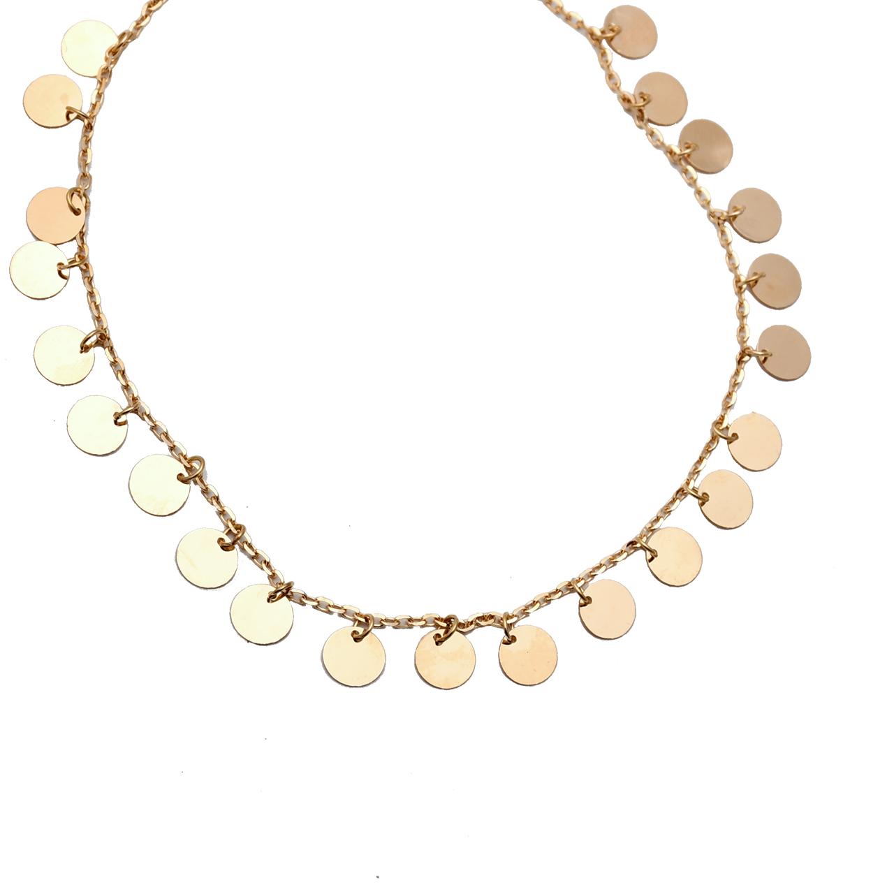 گردنبند طلا 18 عیار  کد N095
