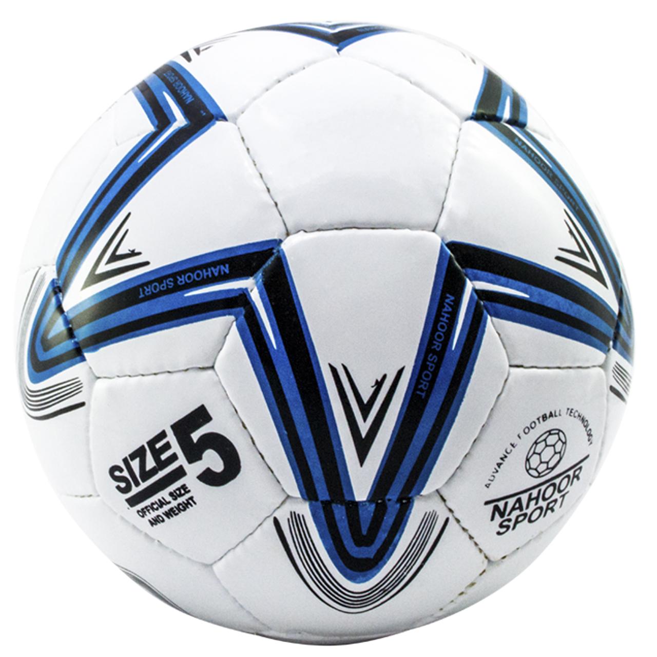 توپ فوتبال ناهور اسپرت مدل 01 وایت سایز 4