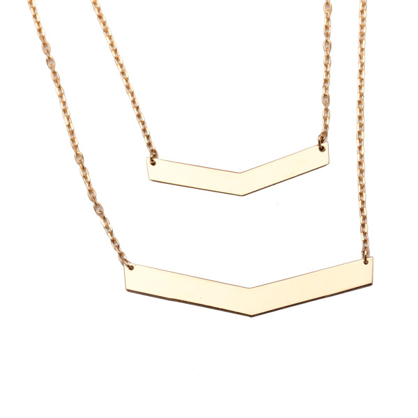 گردنبند  طلا 18 عیار کد N113